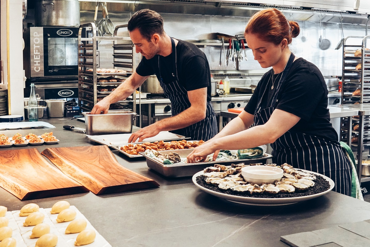 cooks in kitchen | in-demand jobs in Canada